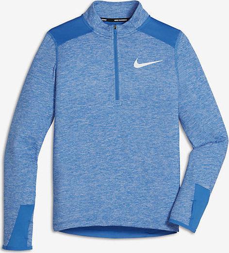 Nike Winter Breathe Element LS Blue Bambino 1