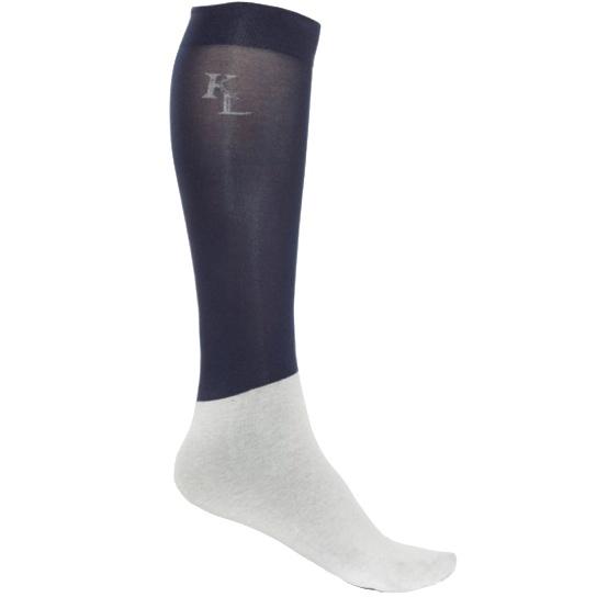 Kingsland Classic Show Socks Navy Unisex (3x)