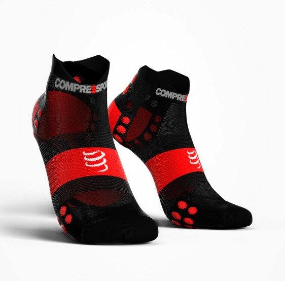 Compressport Calze Basse Smart  Ultra Light Nero