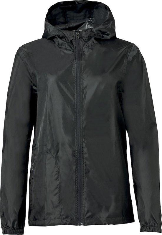 Clique Basic Rain Jacket Vis Black