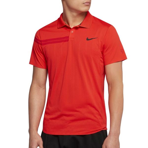 Nike RF Polo Summer ADV Rosso Uomo 1