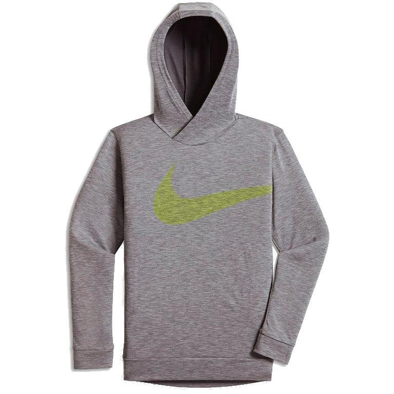 Nike  Spring Breathe Training Hoody Grigio Bambino 1