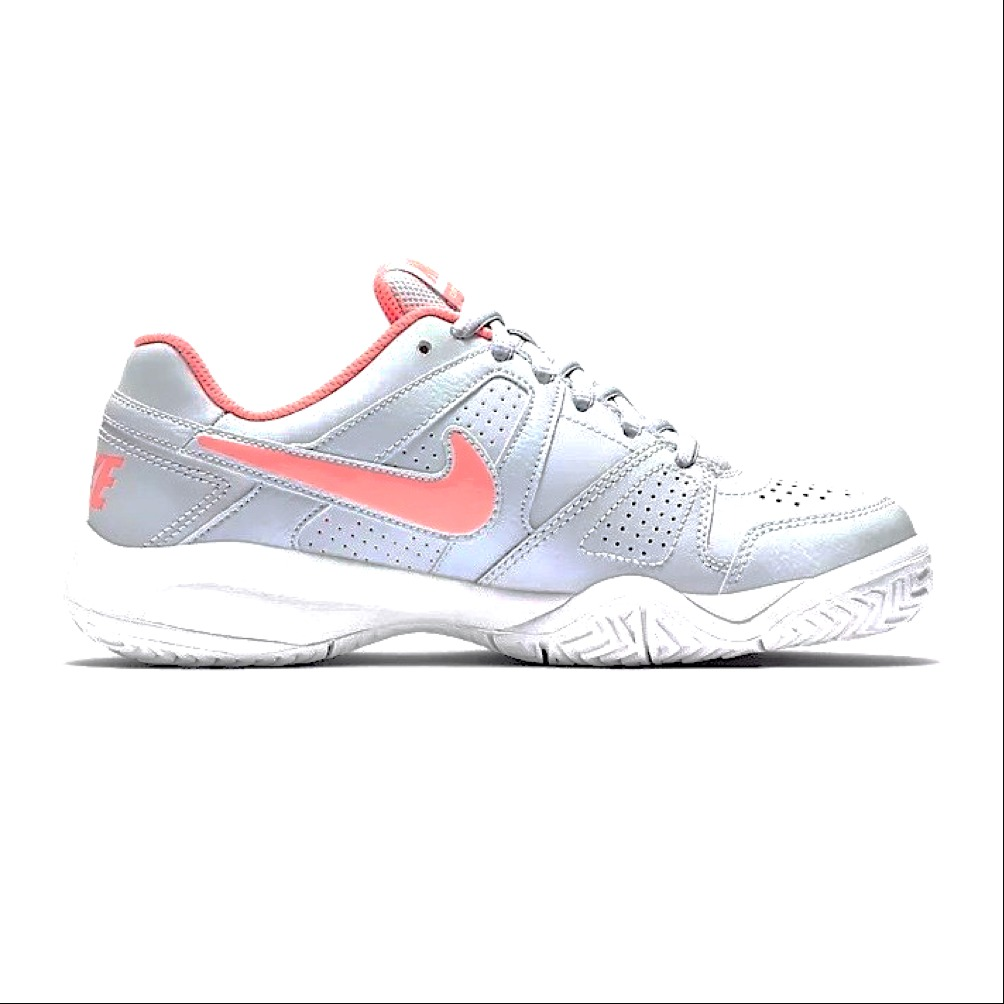 Nike City Court 7 Pure Platinum-Punch-White Junior 1