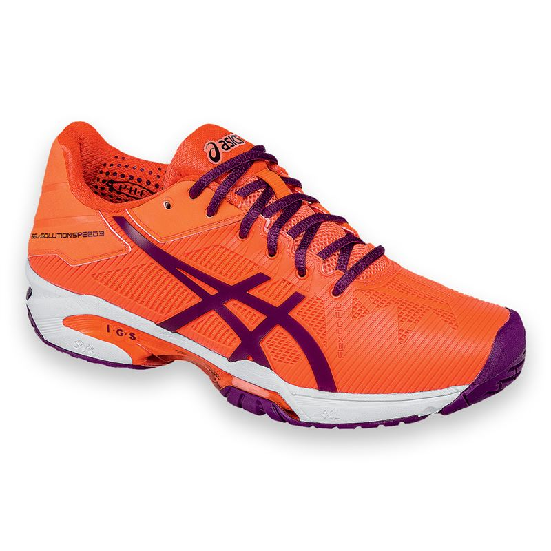 Asics Gel-Solution Speed 2 AC Coral-Plum Donna