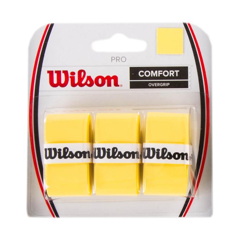 Wilson Pro Overgrip Giallo (3x)