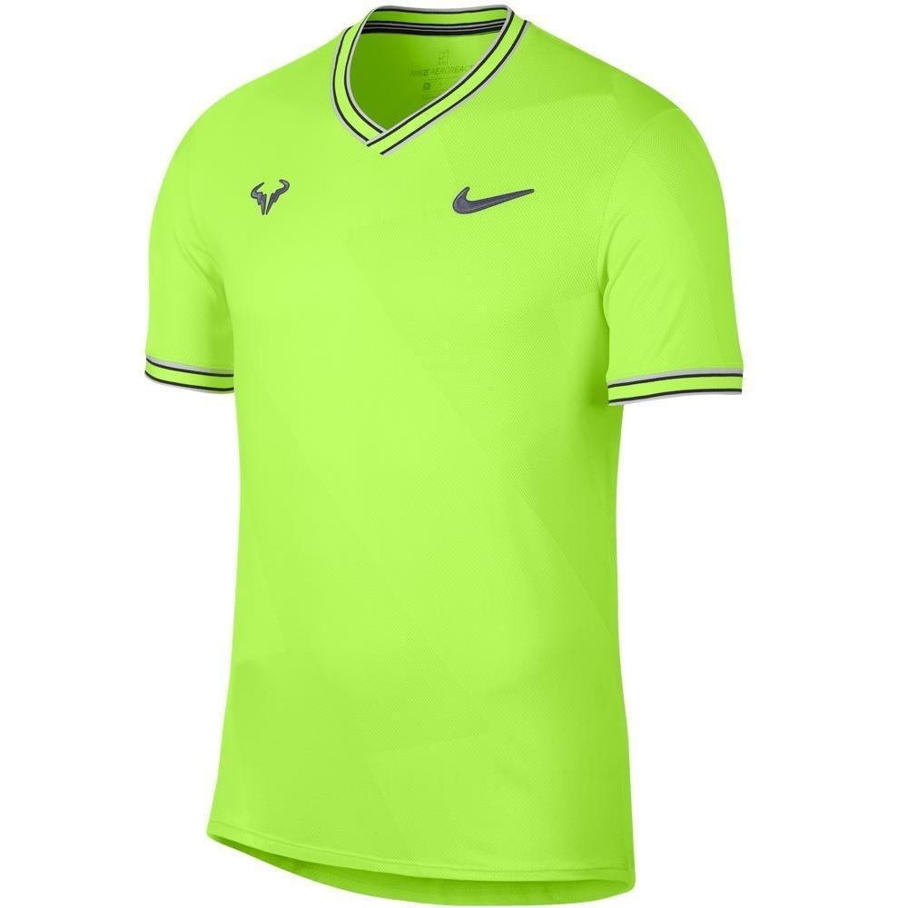 Nike Court Aero React Rafa Giallo 1