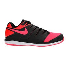 Nike Zoom Vapor X Clay Nero-Pink Junior