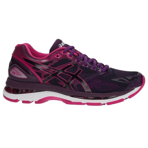 Asics Gel-Nimbus 19 Nero- Cosmo Pink- Winter Bloom Donna