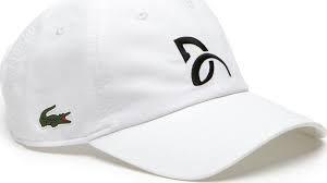Lacoste Cappellino Bianco DJ