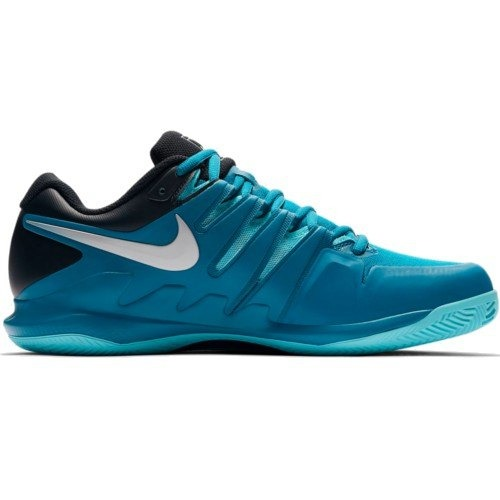 Nike Zoom Vapor X Clay Vert Abisse-Silver Uomo