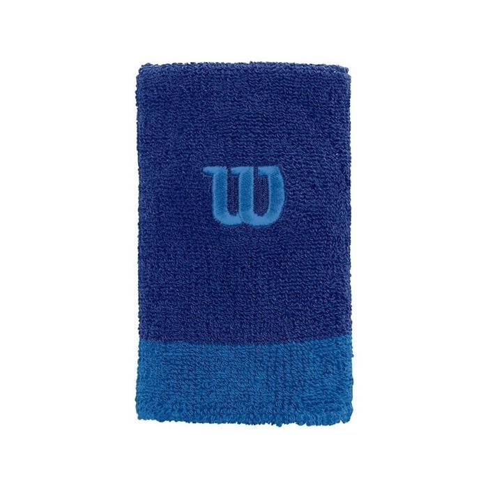 Wilson Extra Wide Polsini Blu (2x)