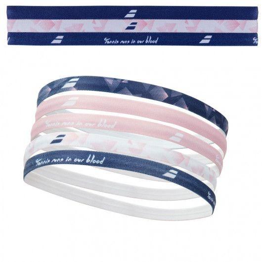 Babolat Elastic Headband Navy Donna