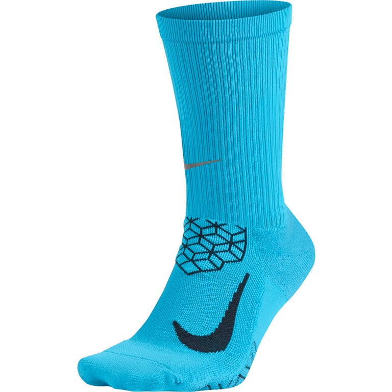 Nike Elite Cushioned Crew Calze Blu 1