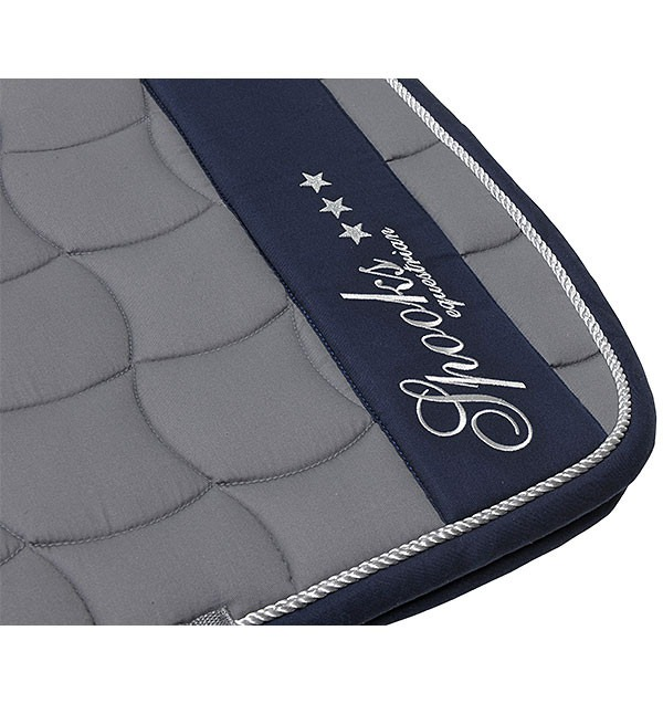 Spooks Coperta Blanket Milano Grey-Navy 1