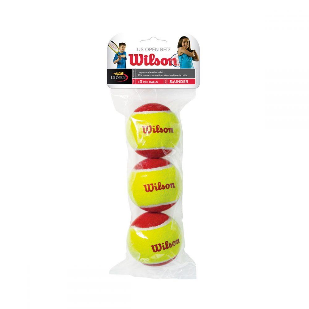 Wilson Starter Red Balls (3x)