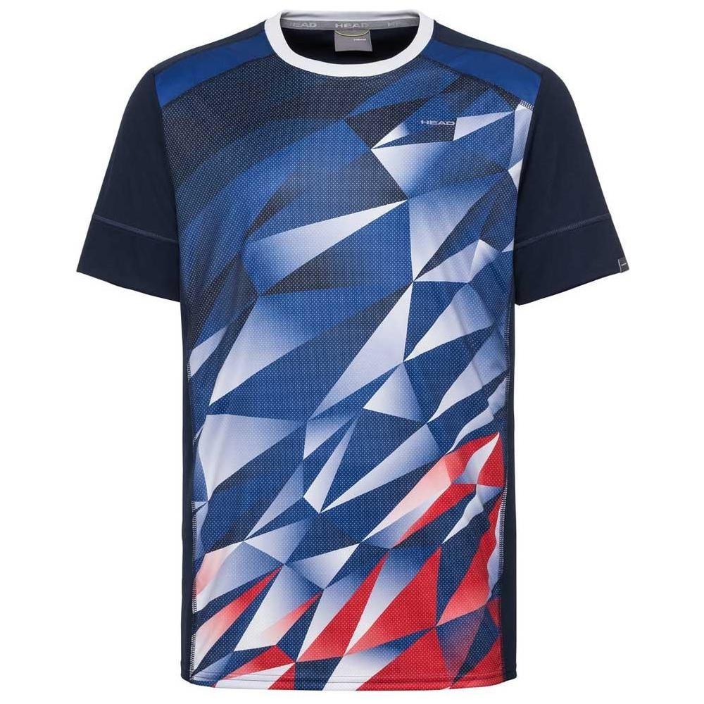 Head Medley T-Shirt Blu-Rosso Uomo