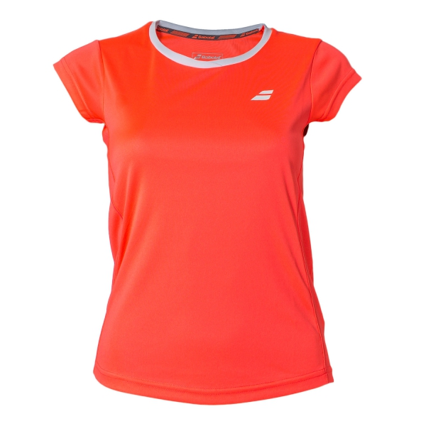 Babolat New Core Flag Club Tee Fluo Strike Bambina