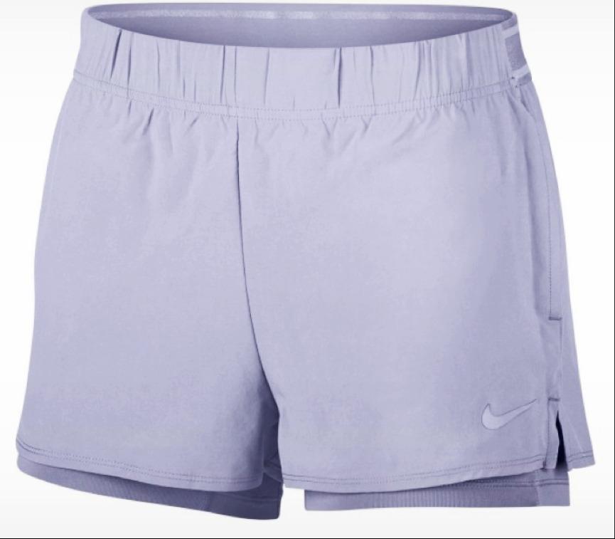 Nike Court Flex Shorts Lilla Donna 1