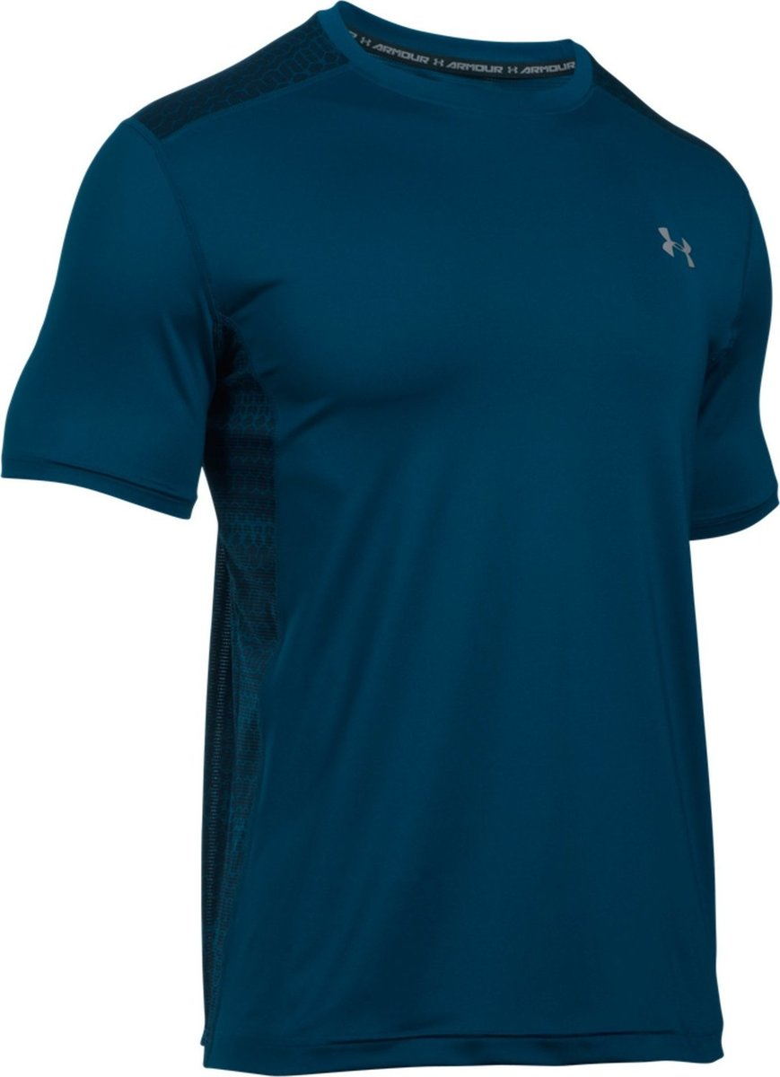 Under Armour T-Shirt Summer Raid Navy Uomo