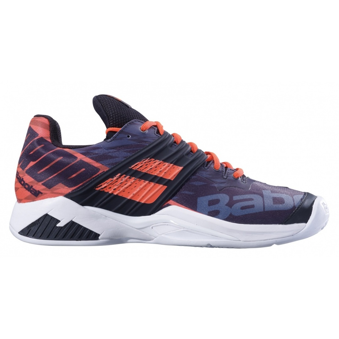Babolat Propulse Fury Clay Nero-Fluo Strike Uomo 1