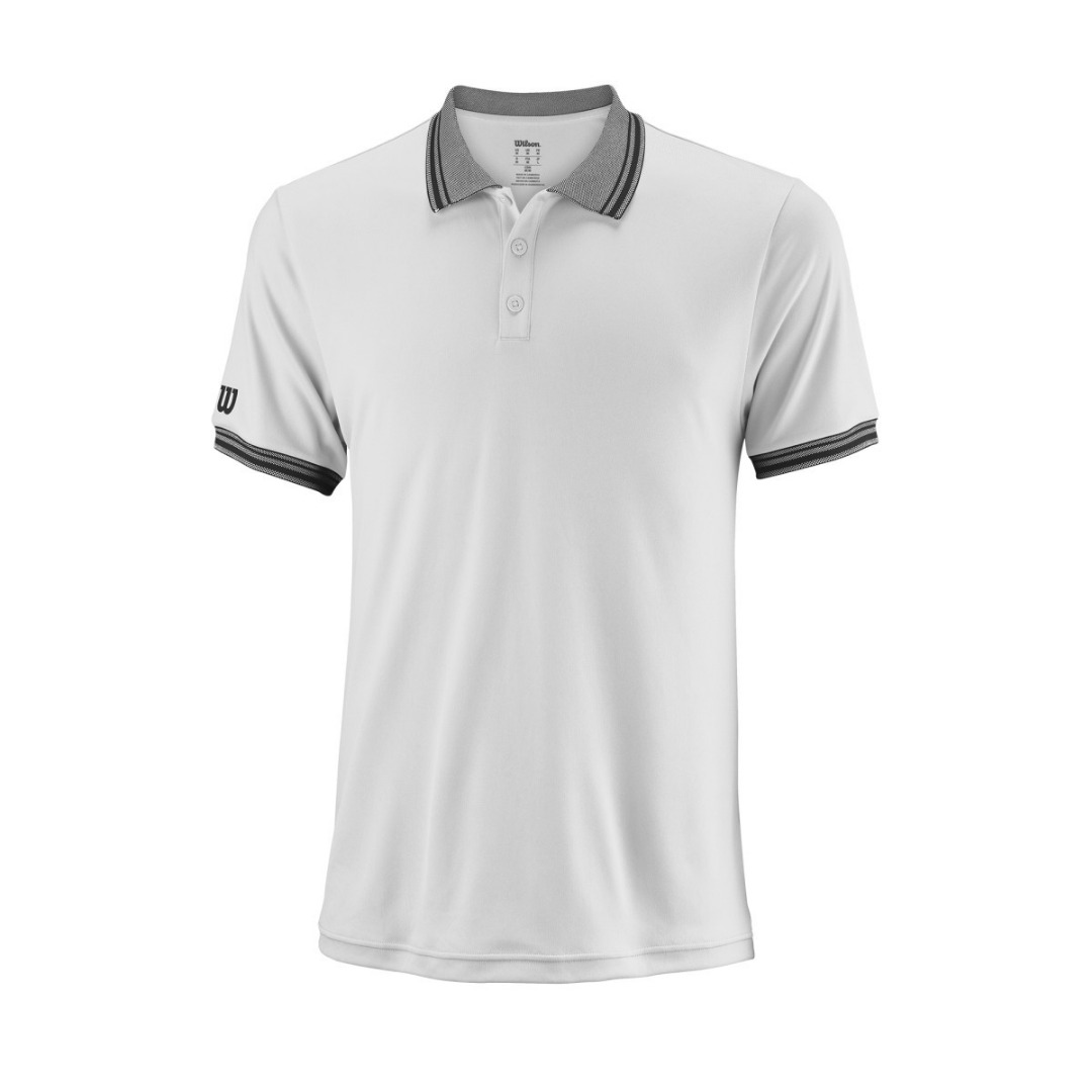 Wilson Star Tipped Polo Bianco 1