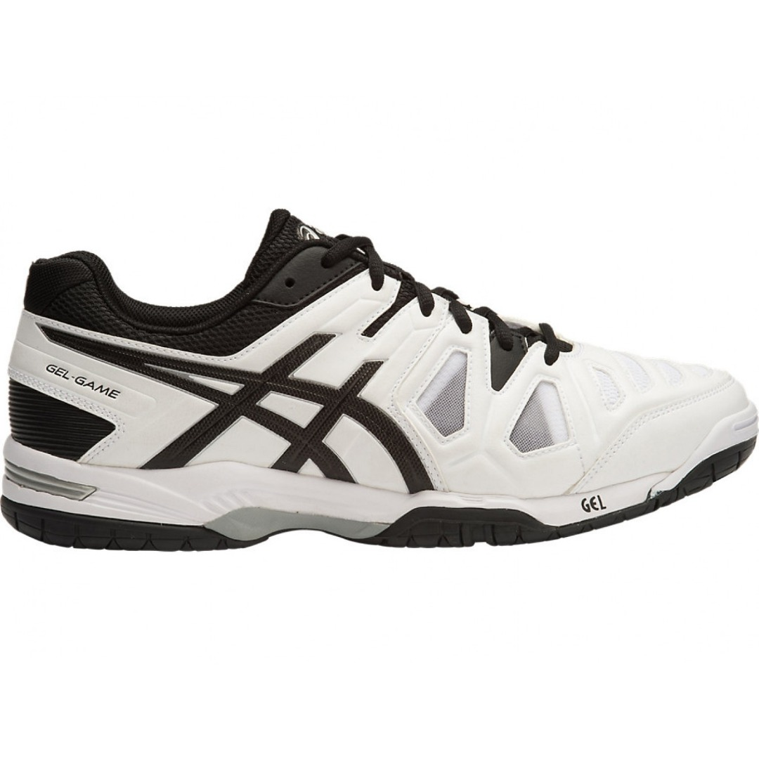 Asics Gel-Game 5 GS Bianco-Nero Junior