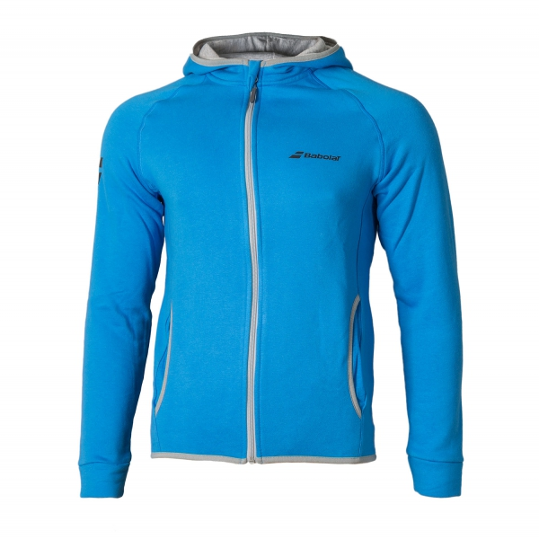 Babolat New Core Hood Sweat Diva Blu Uomo 1