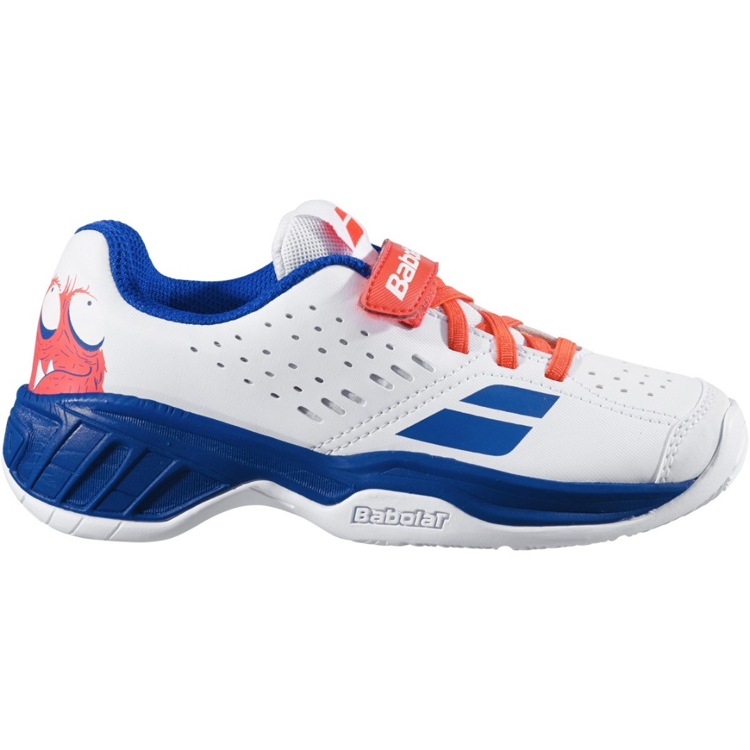 Babolat Pulsion All Court Bianco Blu Kid