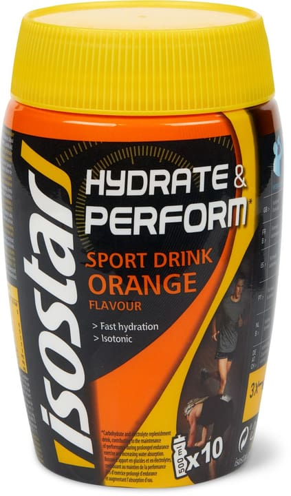 Isostar Hydrate & Perform Sport Drink Orange 400g 1