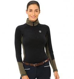 Spooks Sport Shirt Tilda Navy Olive Donna