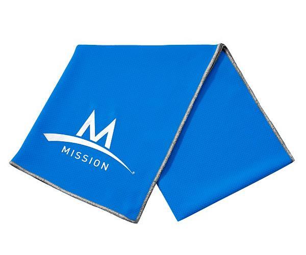 Mission EnduraCool Asciugamano Tecnico Blu 31 x 84 cm