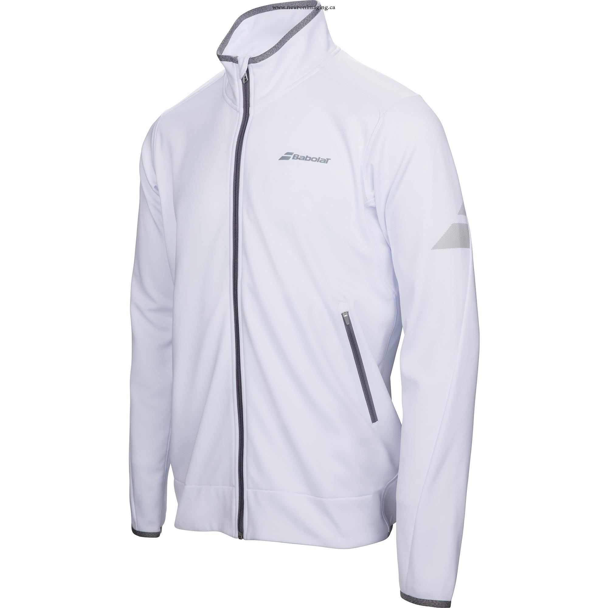 Babolat New Jacket Performance Bianco Uomo