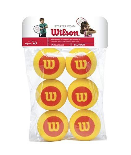 Wilson Starter Foam Balls (x6)