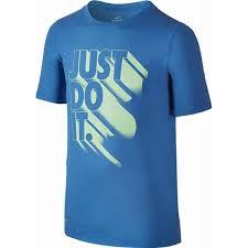 Nike Summer JDI Again T-Shirt Blu Bambino