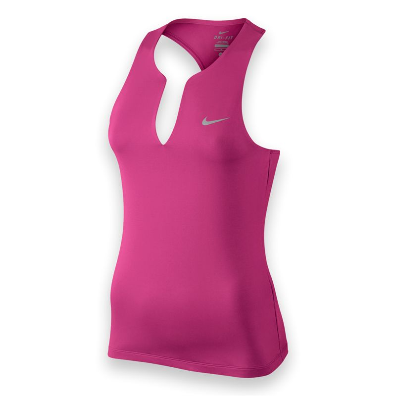 Nike Pure Tank Pink Donna 1