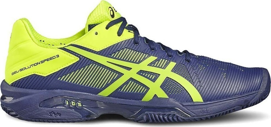 Asics Gel-Solution Speed 3 Clay Bianco Uomo