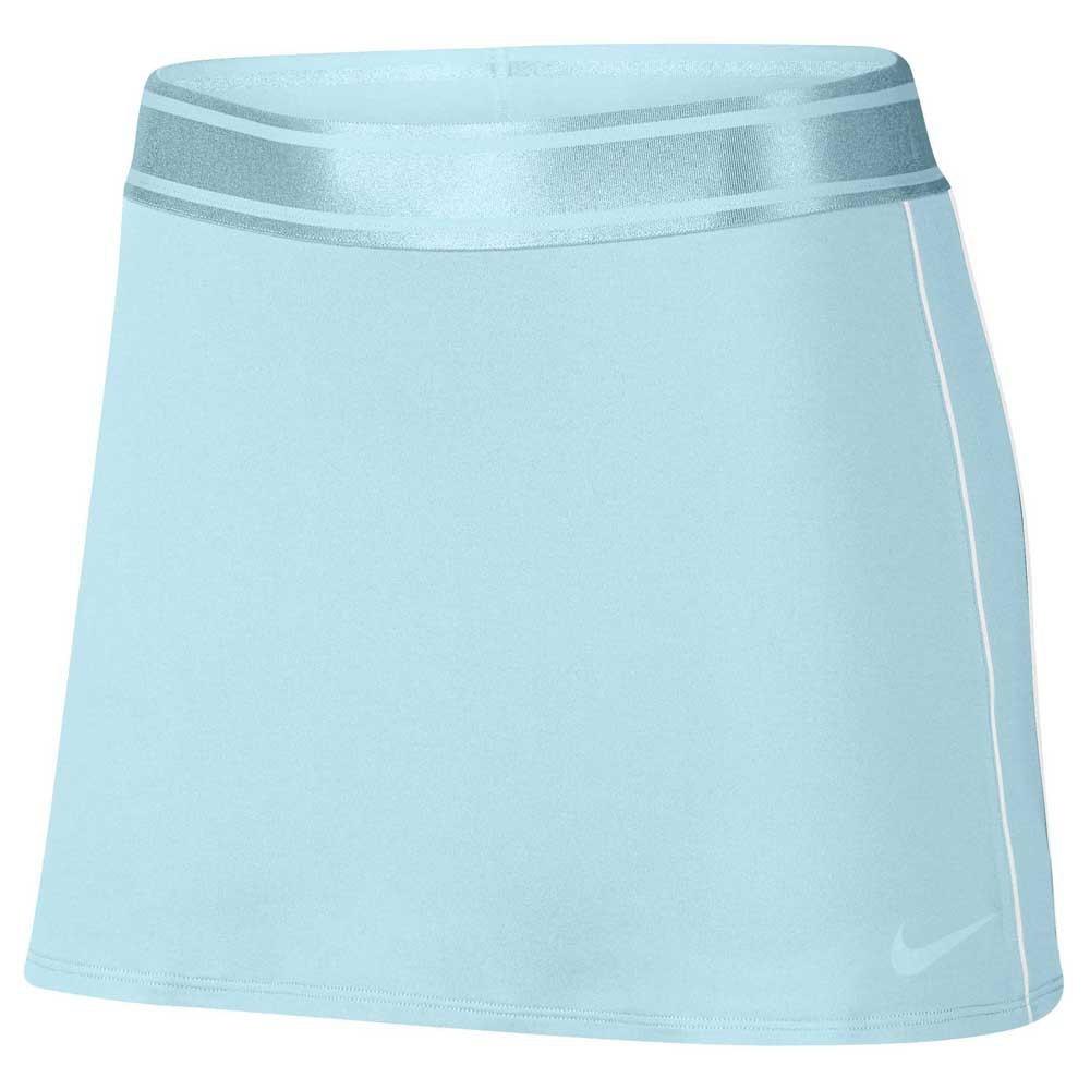 Nike Court Dry Skirt Azzurro Donna 1