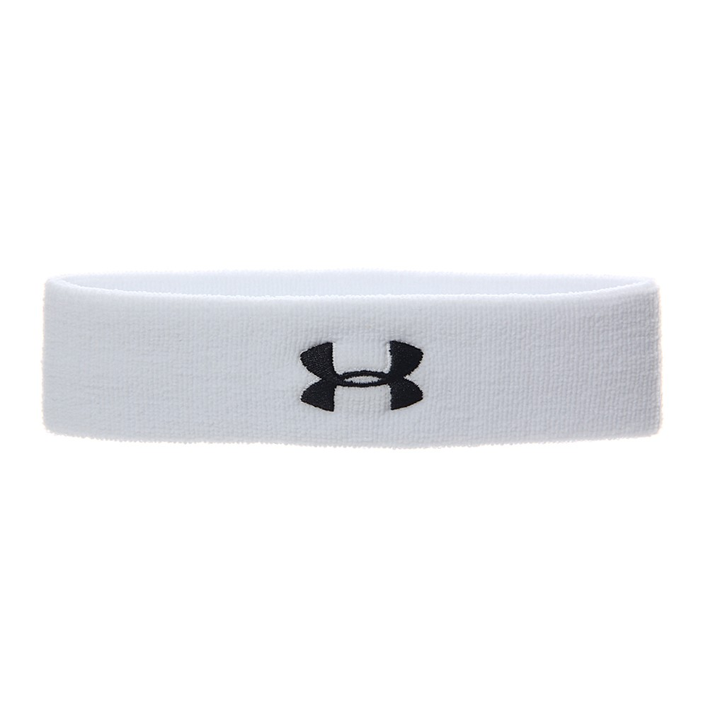 Under Armour Bandana Spugna Bianca