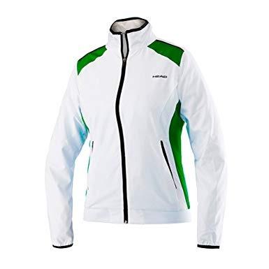 Head Club Jacket Bianca e Verde Donna 1