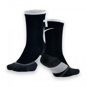 Nike Elite Cushioned Support Calze Nere 1