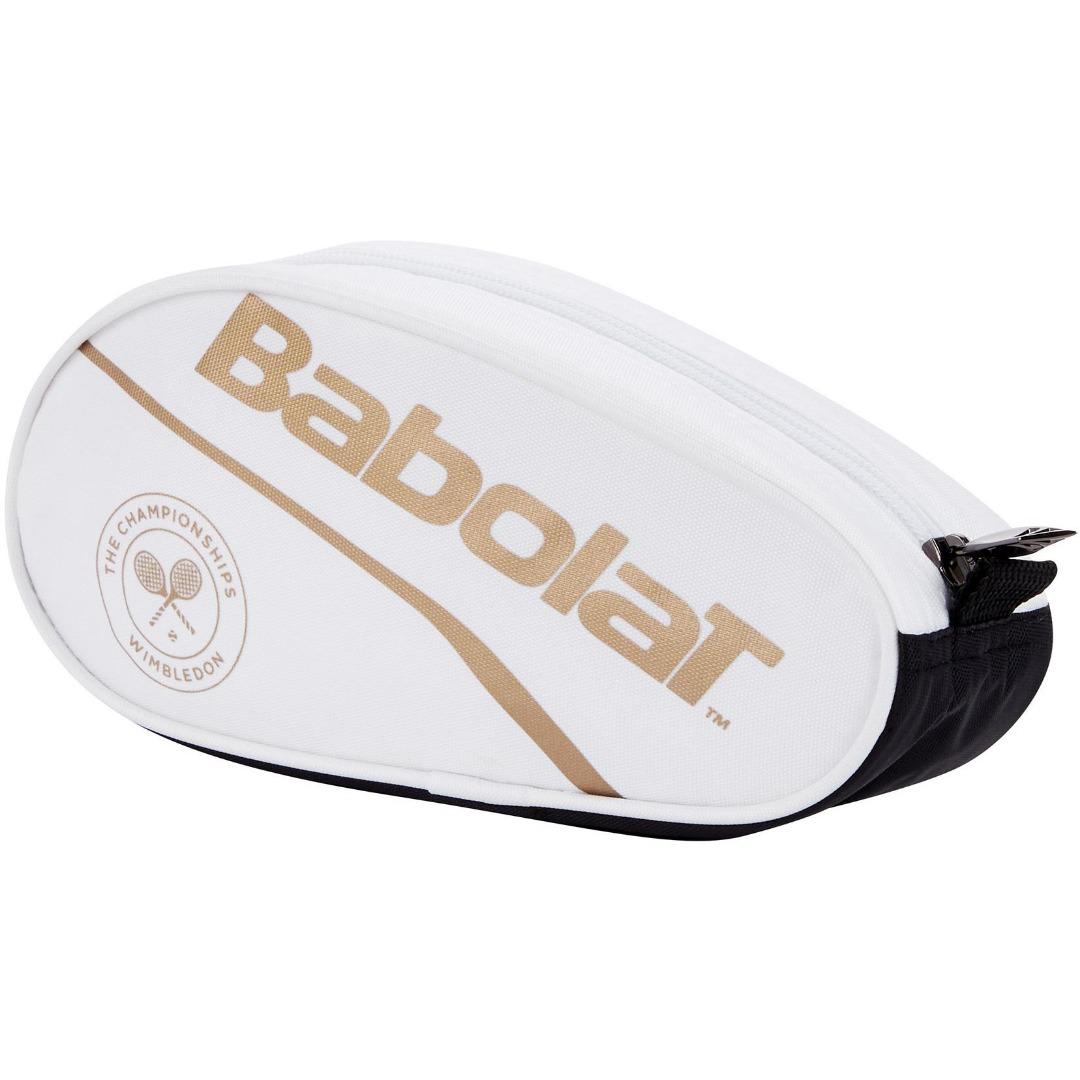 Babolat Pencil Case Wimbledon Bianco Oro