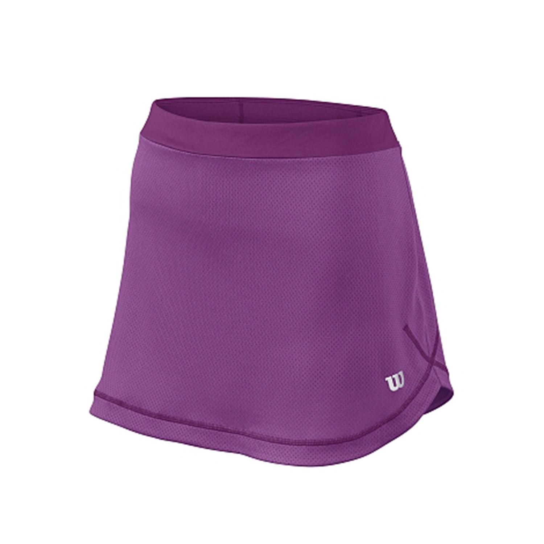 Wilson SP Mesh Skirt Viola Bambina