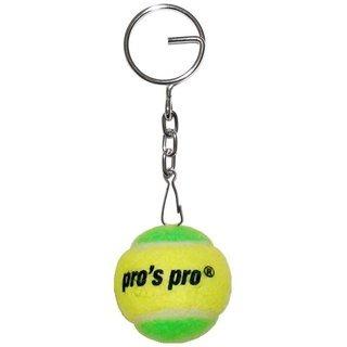 Pro's pro Portachiave pallina gialla/verde