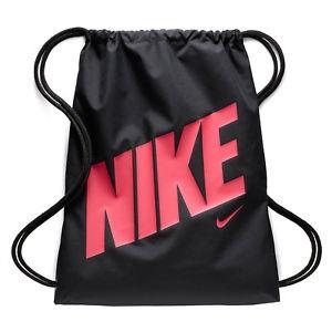 Nike Kids Gym Sack Black-Pink