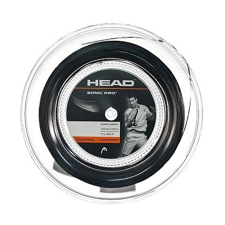 Head Sonic Pro Nero 1.25 mm 200 m 1