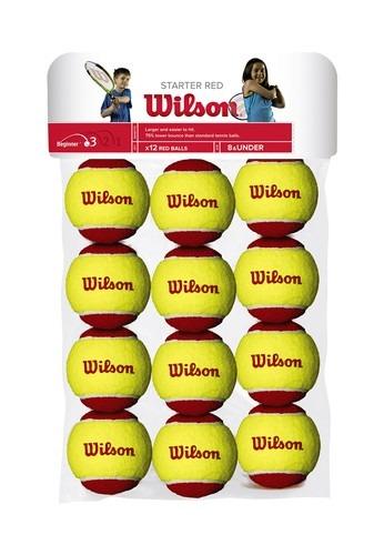 Wilson Starter Red Balls (12x)