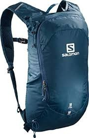 Salomon Backpack Trailblazer 10 Ebony/Poseidon