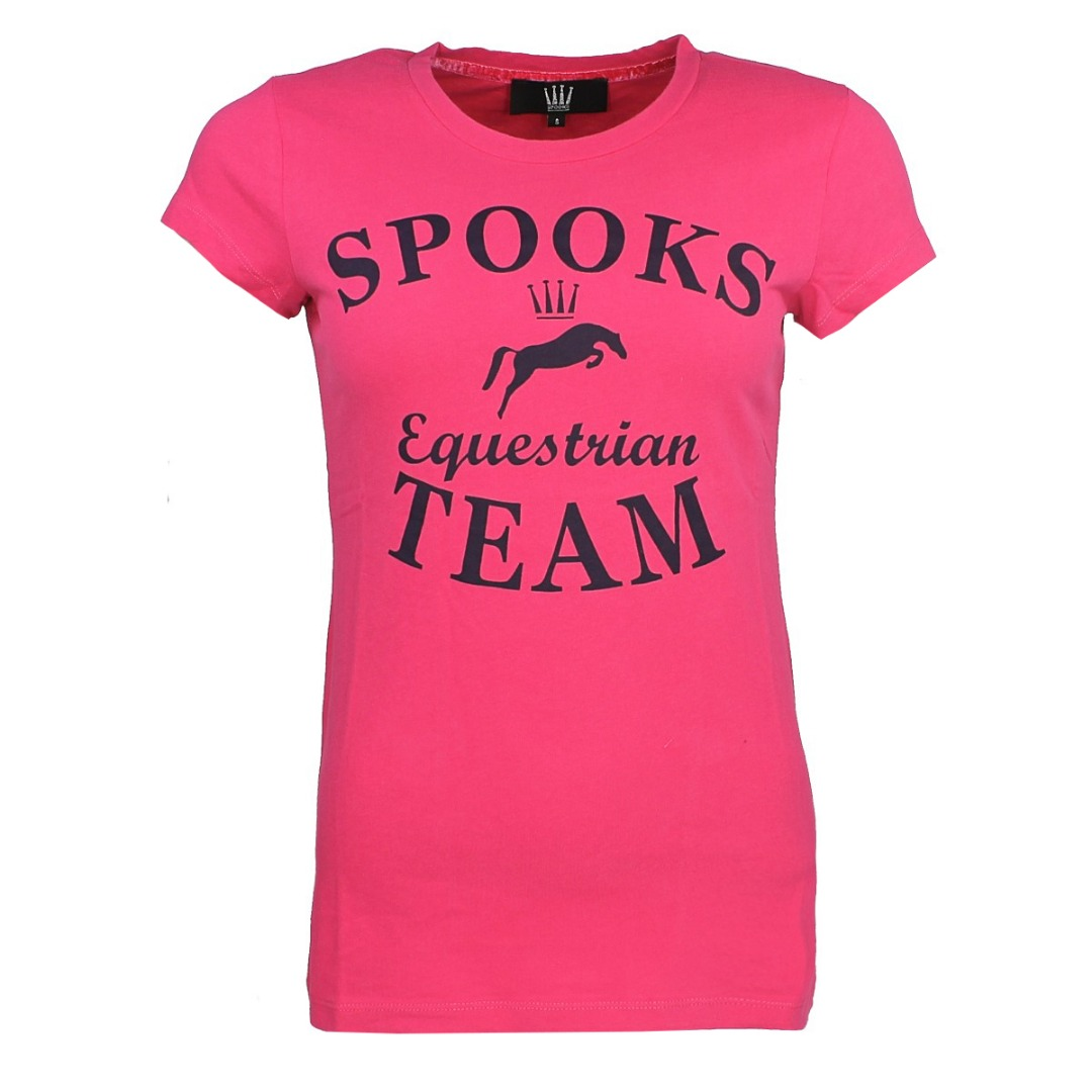 Spooks Team Shirt Donna Pink 1