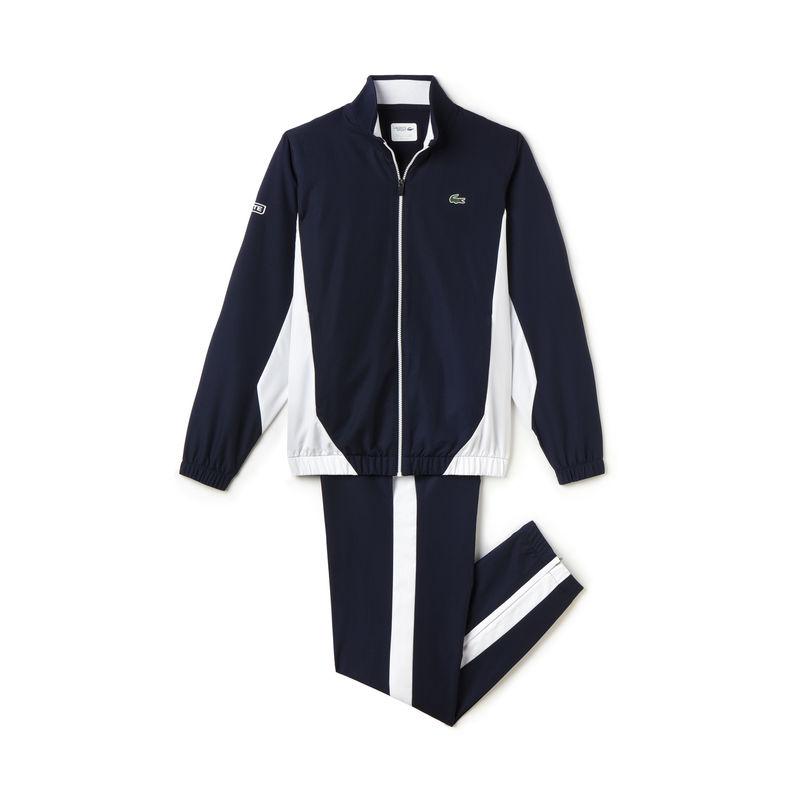 Lacoste Warm Up Blu-Bianco Uomo