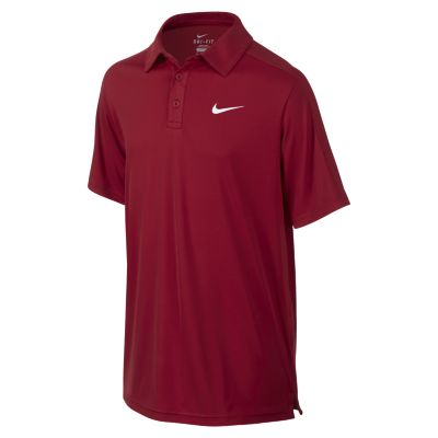 Nike Polo Team Court Rossa Bambino